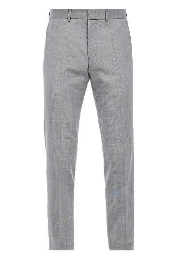 Slim: broek met scheerwol