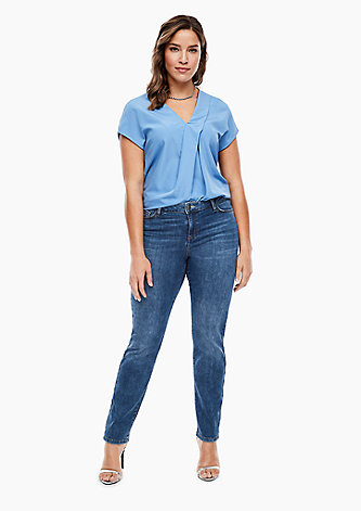 Slim Fit: Straight leg-Jeans
