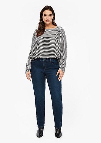 Slim Fit: Straight leg-Denim