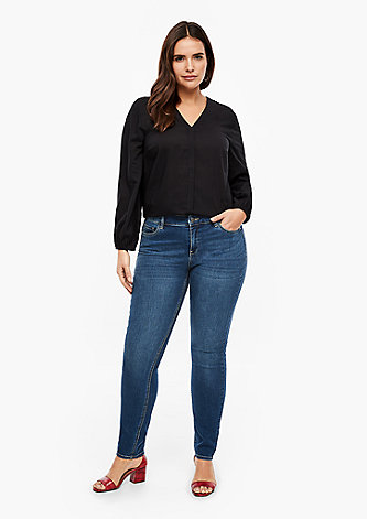 Regular Fit: Extra slim leg-Denim