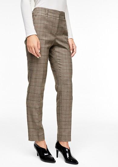 Sue Slim: Glenčekové kalhoty