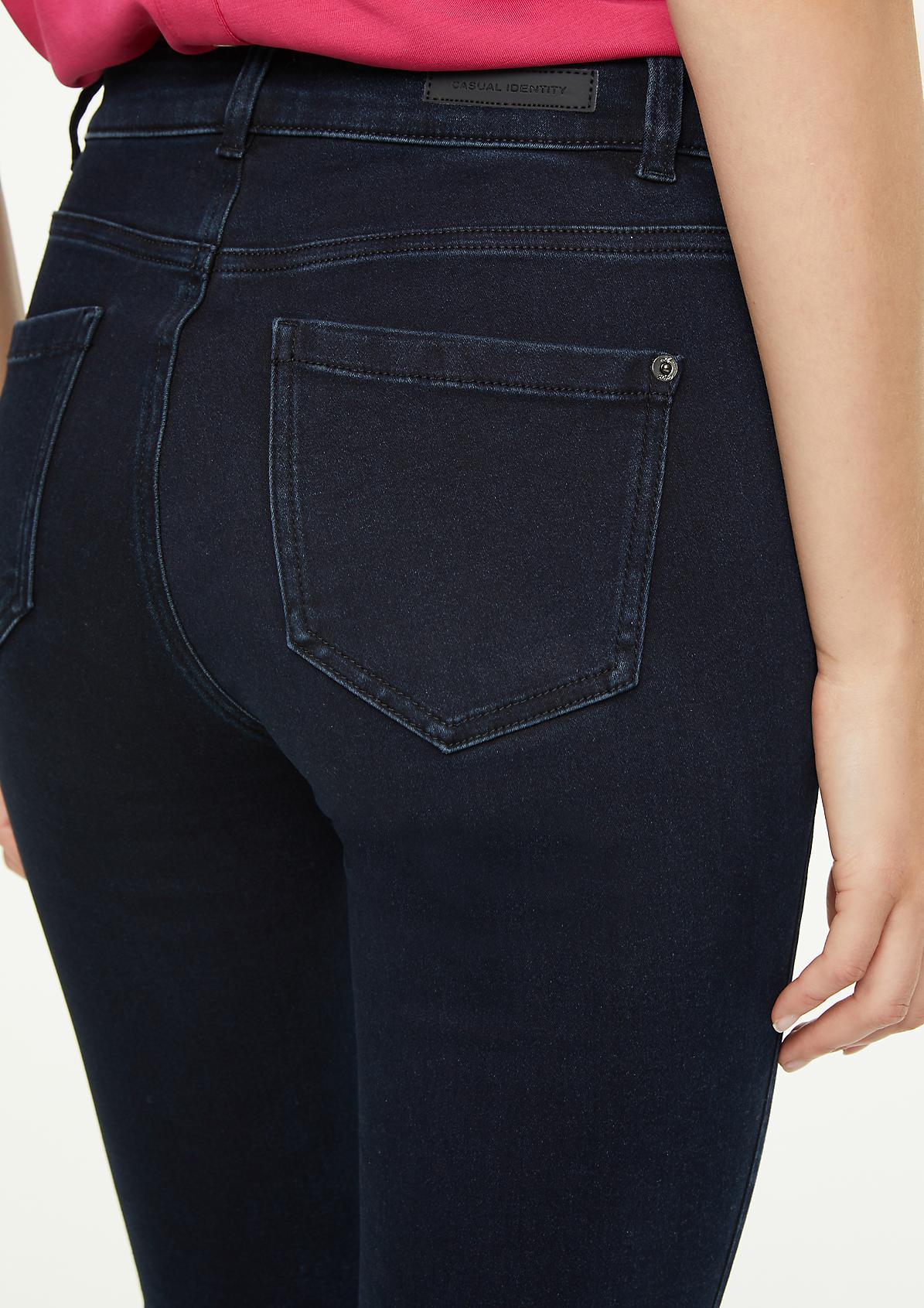 Slim Fit: Dunkle Slim Leg-Denim