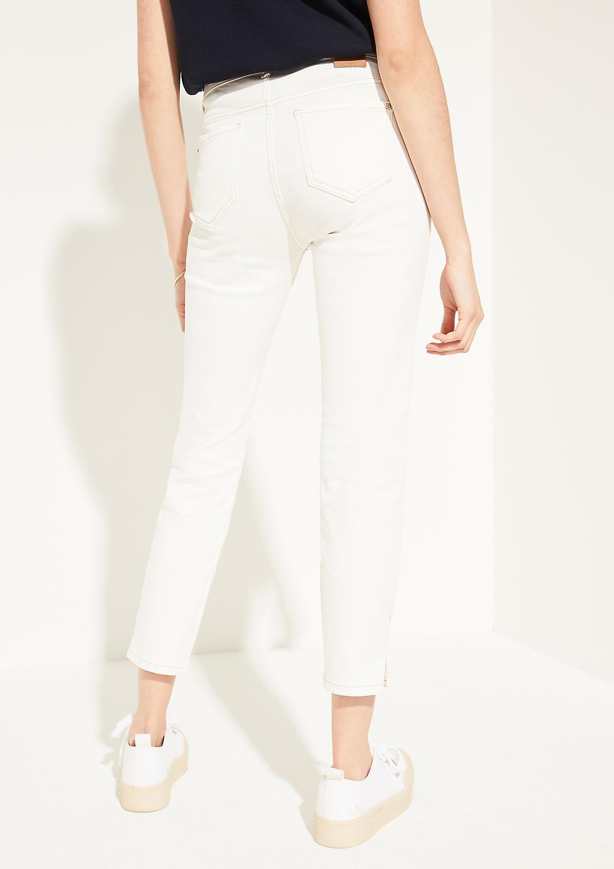 Slim Fit: 7/8-Jeans