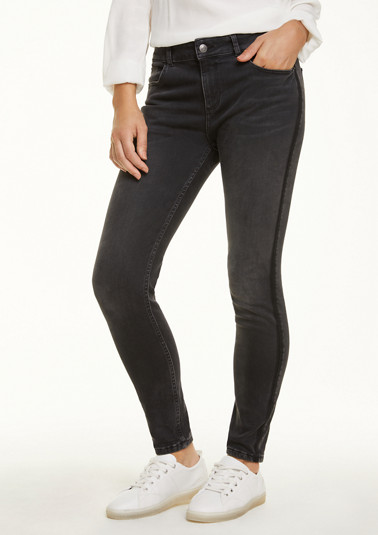 Skinny Fit: stretch jeans with a skinny leg from comma