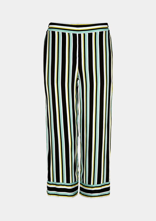 Regular Fit: 7/8-length cloth trousers from comma