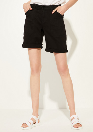 Regular Fit: Twill-Shorts
