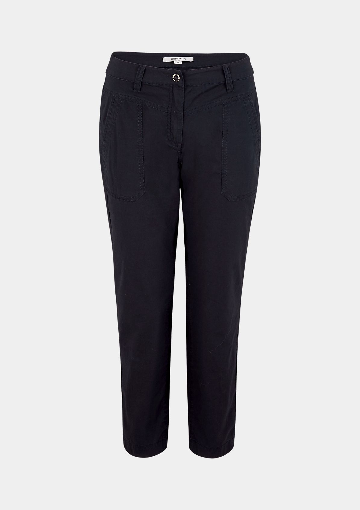 Slim fit: Cotton twill chinos from comma