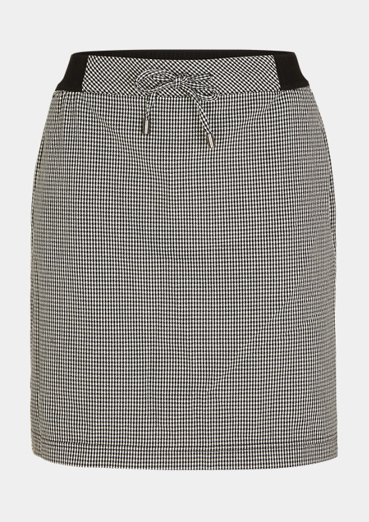 Houndstooth skirt from comma