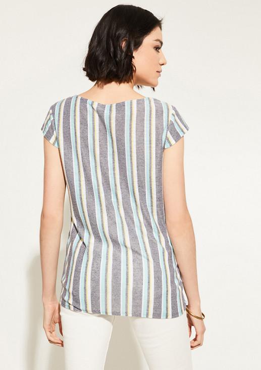Shirt aus leichtem Strickjersey