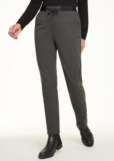 Regular Fit: Jogpants aus Jersey