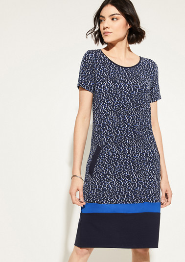 Shirt dress with contrasting details from comma