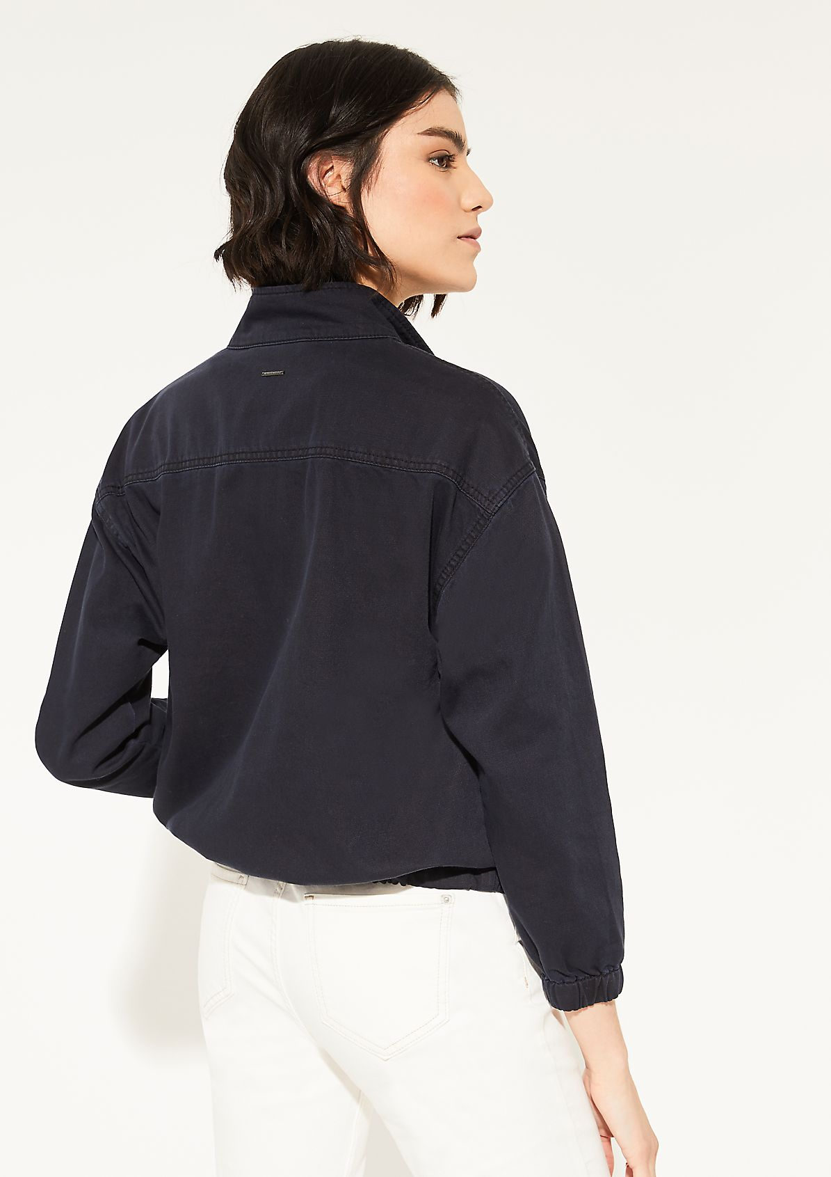 Jacke aus Twill