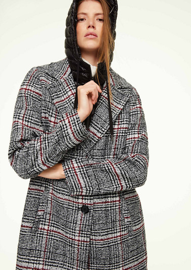 Coat with a hooded insert from comma
