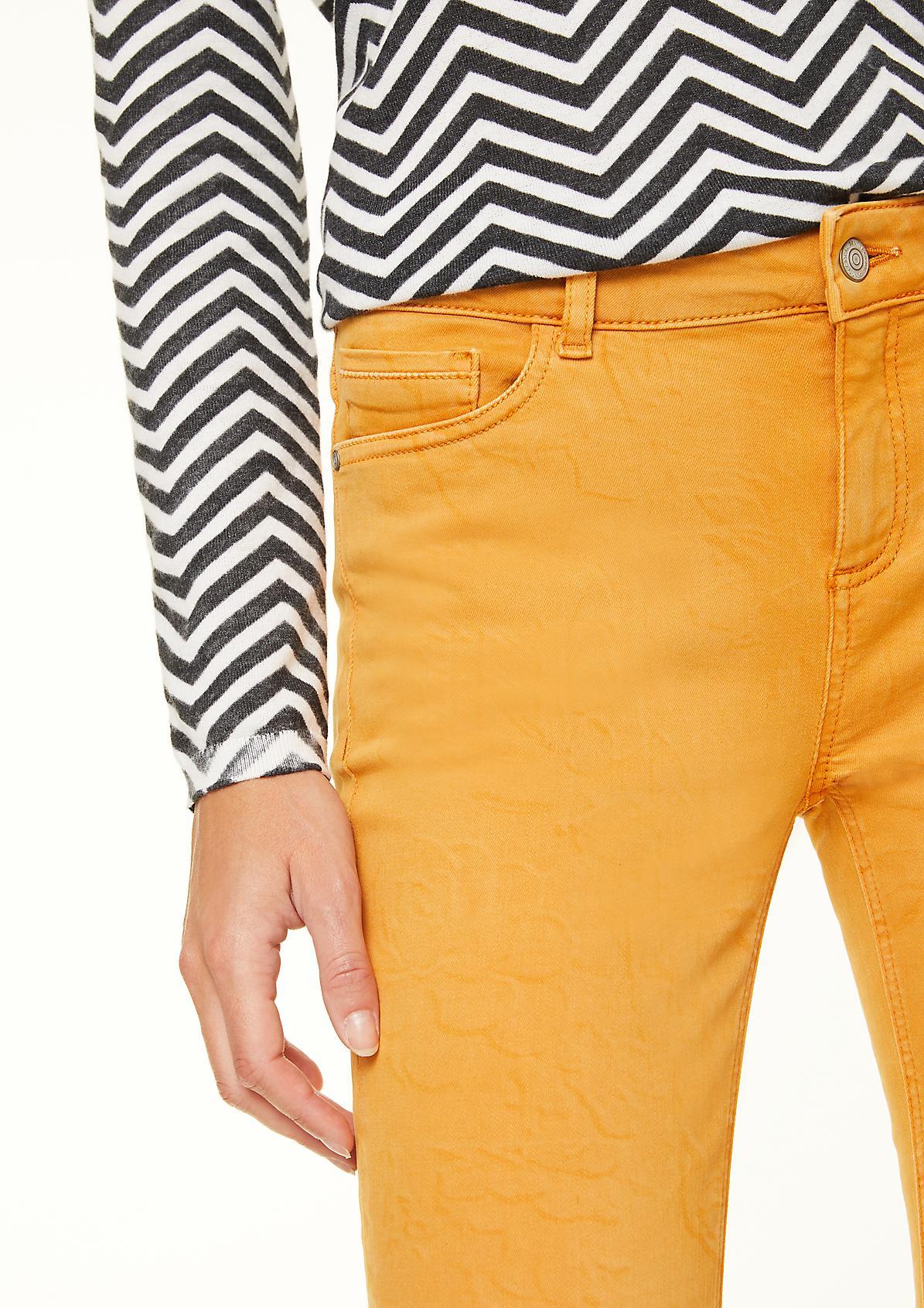 Skinny Fit: Jeans mit Statement-Wording
