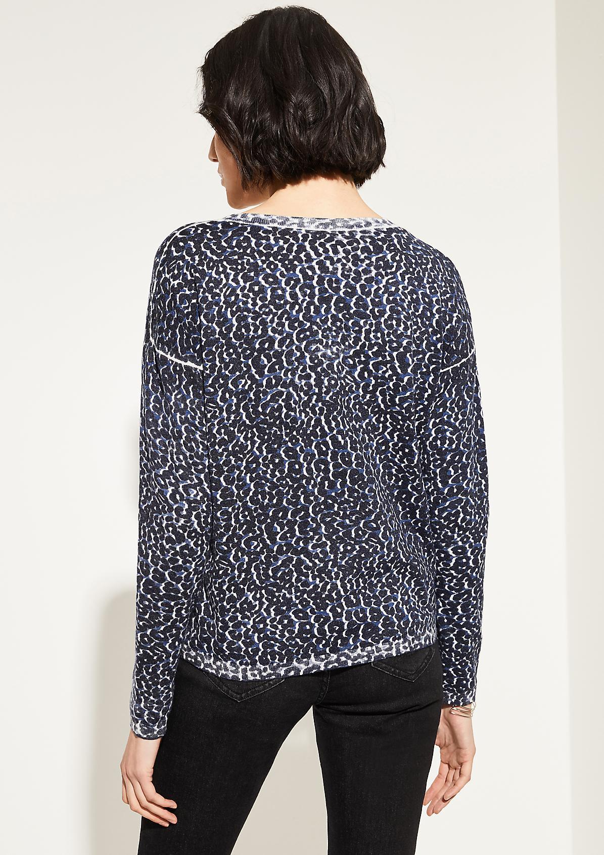 Pullover mit Allover-Print