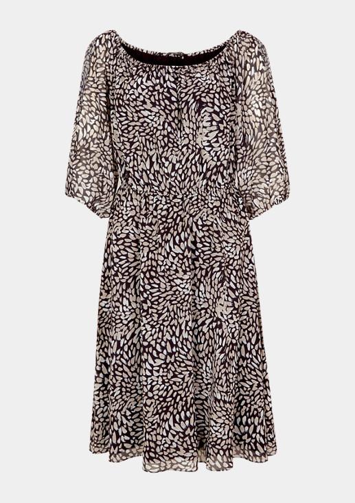 Kleid mit geschlitzten Ärmeln