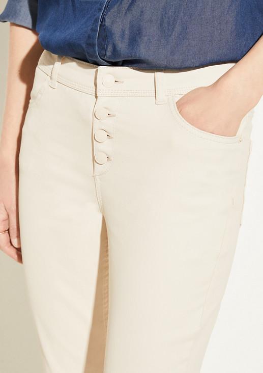 Skinny Fit: Coated Pants