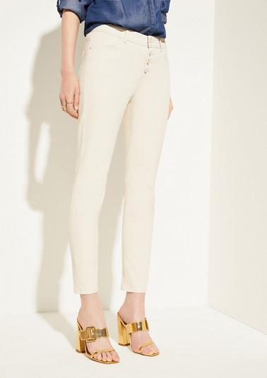 Skinny Fit: Pantalon verni de Comma