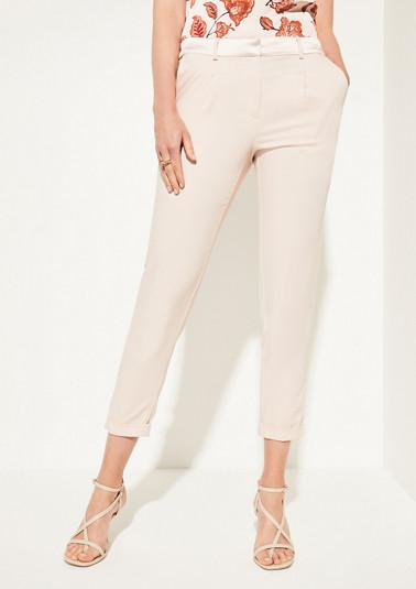 Regular Fit: Elegante Stoffhose