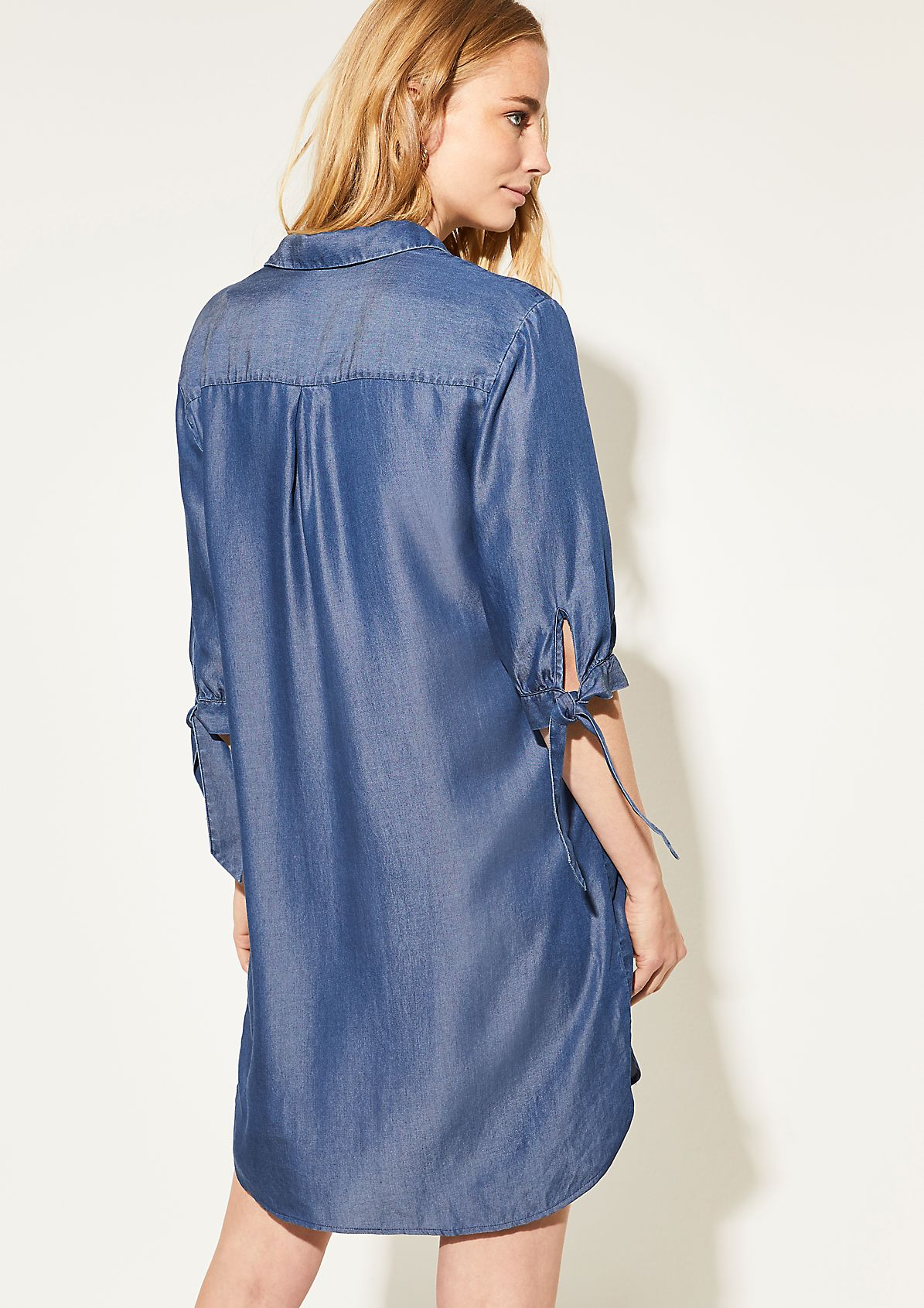 Light Denim-Kleid aus Lyocell