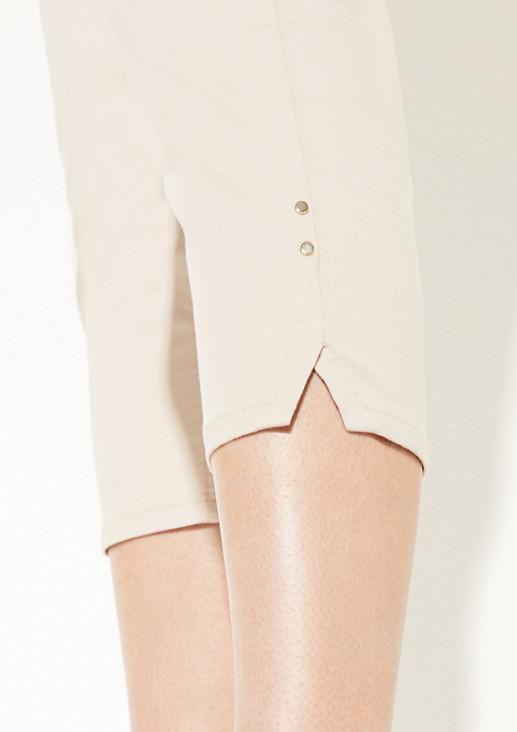 Slim fit: Twill capri trousers from comma