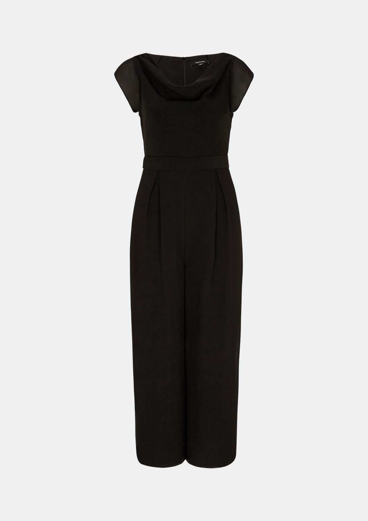 Jumpsuit with a cowl neckline from comma