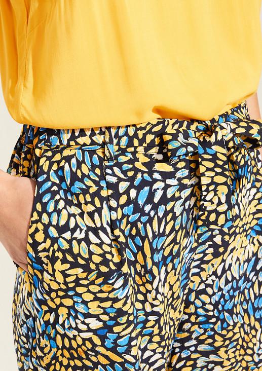 Leichte Shorts aus Satin