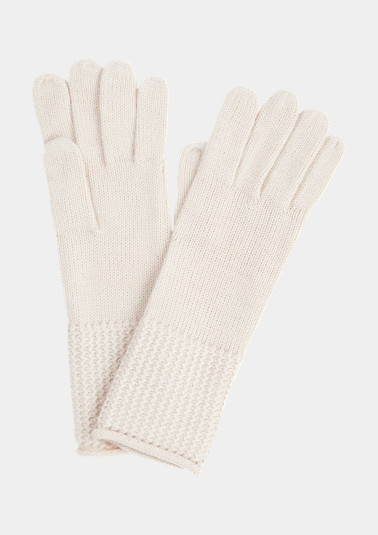 Knit gloves from comma