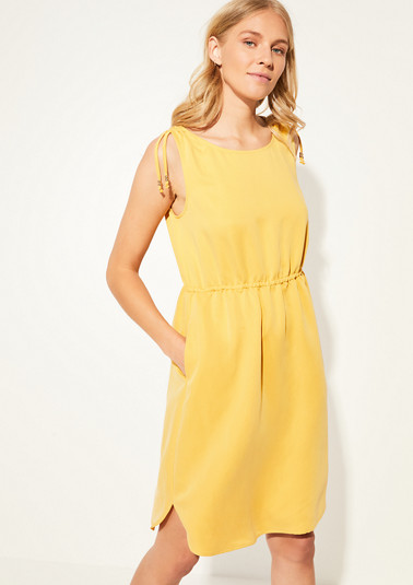 Lightweight blended modal dress from comma
