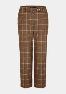 Regular Fit: Straight crop leg-Hose