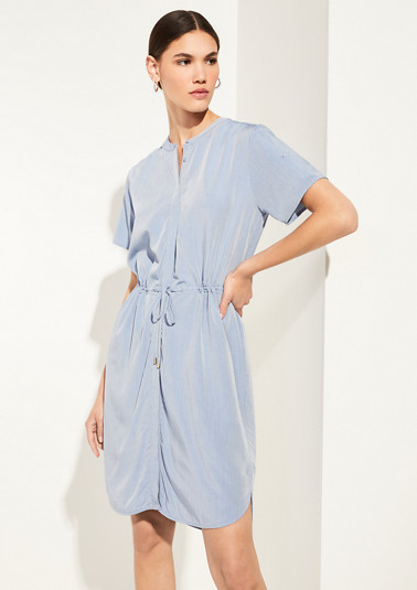 Shirt dress made of chambray from comma