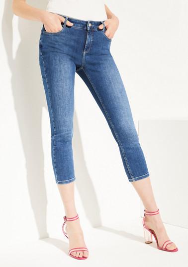 Skinny Fit: Jean délavé de Comma
