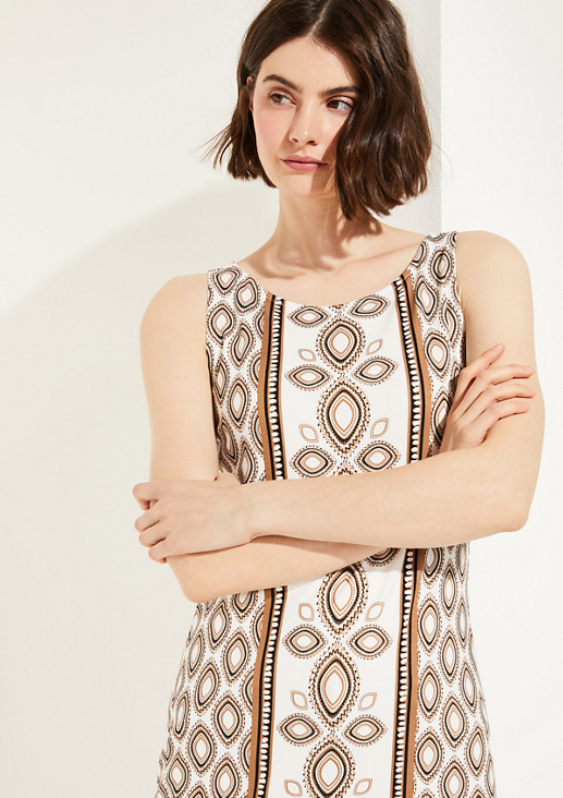Longshirt mit Allover-Print