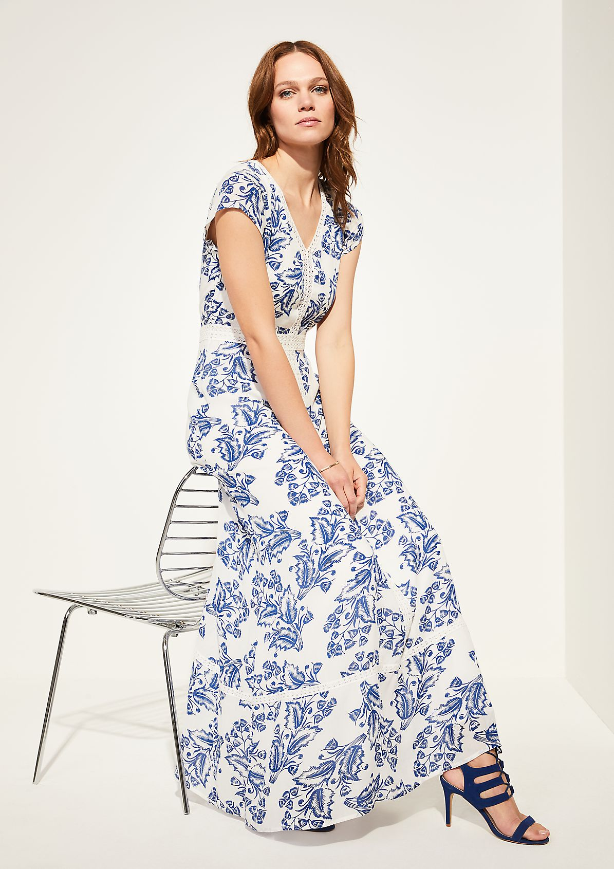 Sommerkleid mit Printmuster