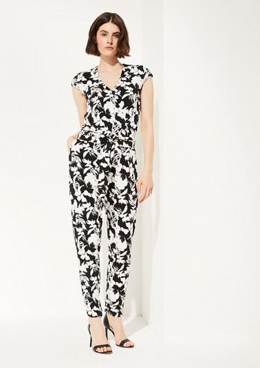 Jumpsuit made of elegant jersey from comma