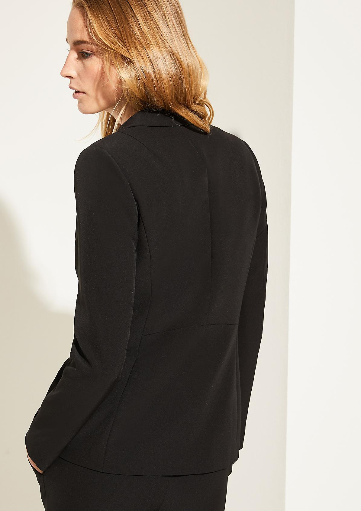 Eleganter Blazer in Unicolor