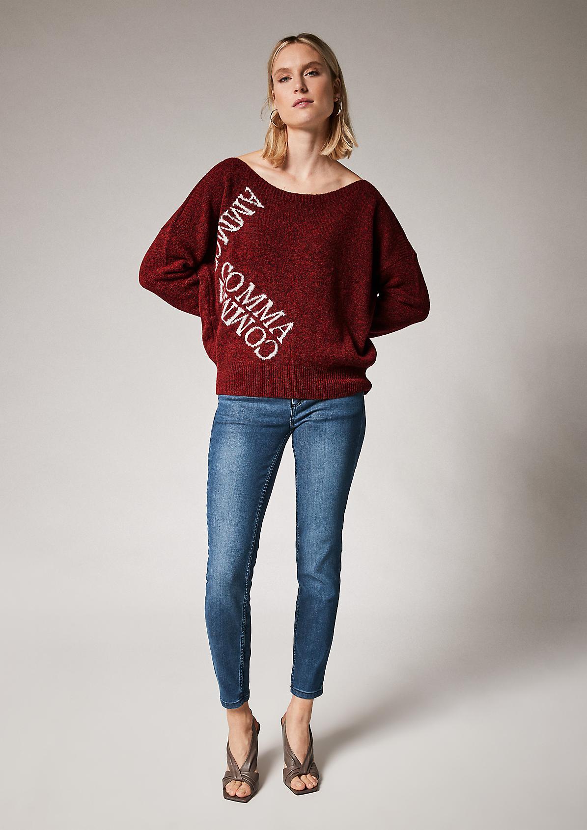 Weicher Pullover aus Wollmix