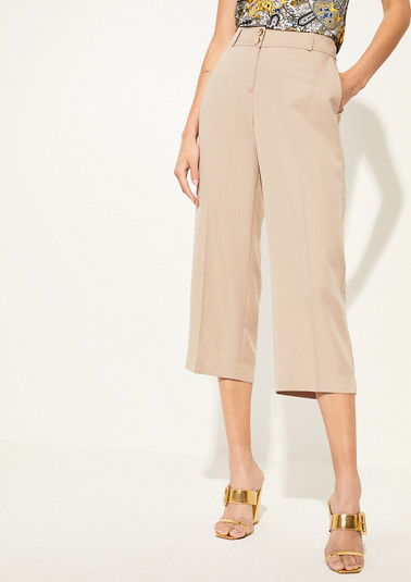 Regular Fit: lyocell culottes from comma