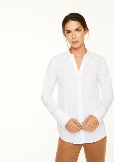 Bluse im Oversize-Shape