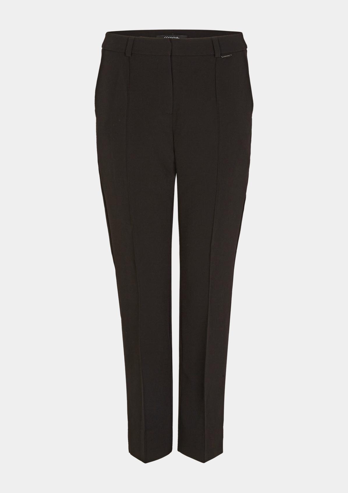 Regular Fit: Elegante Bügelfalten-Hose