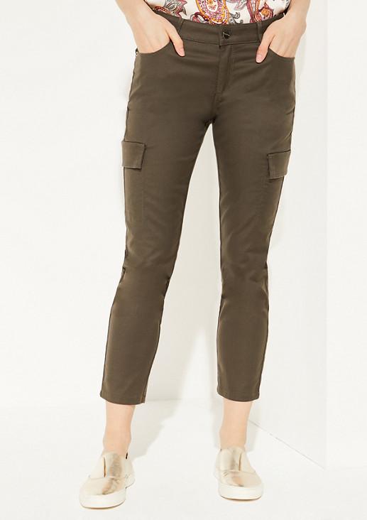 Regular Fit: Hose mit Zier-Taschen