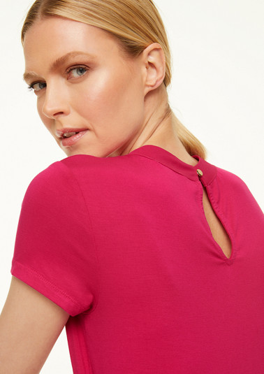 Jerseyshirt mit Cut Out-Detail