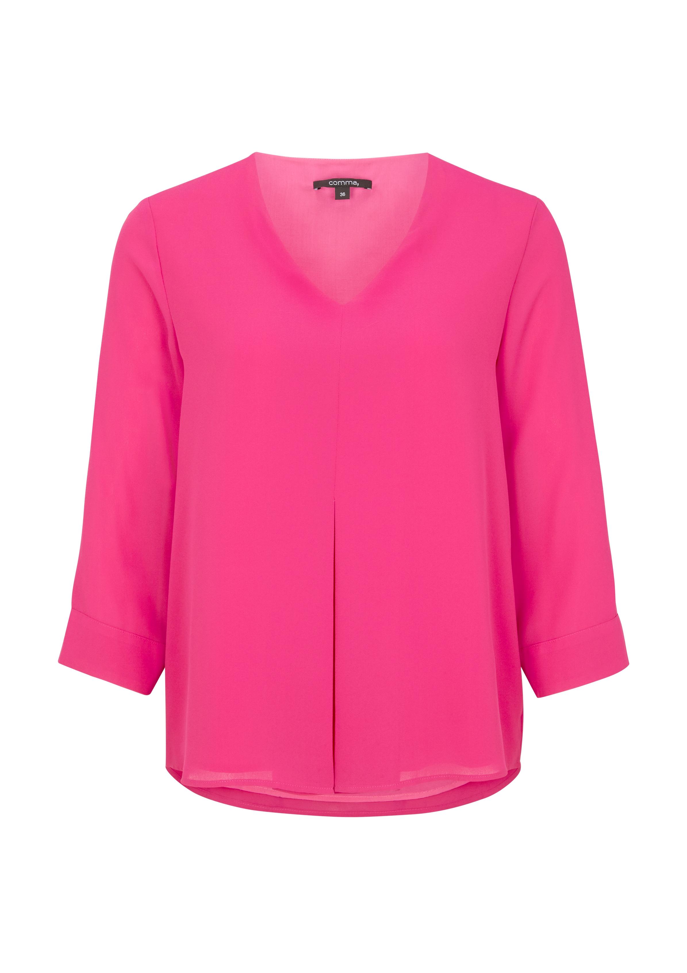 Artikel klicken und genauer betrachten! - Bluse mit Layering-Effekt #todayfortomorrow | im Online Shop kaufen
