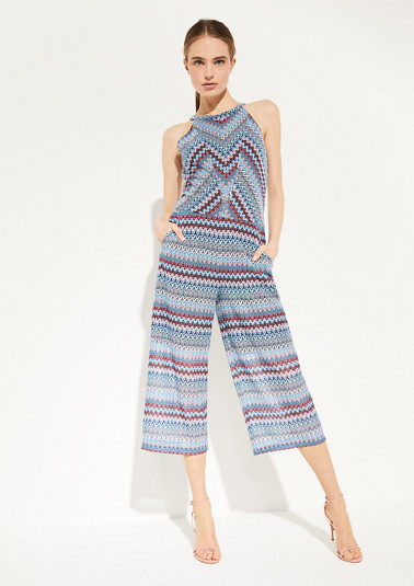 Lightweight summer knit jumpsuit from comma