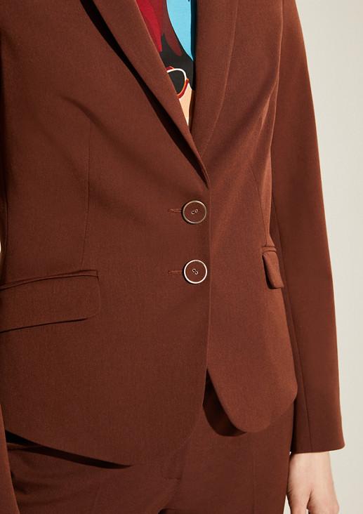 Taillierter Blazer mit Knöpfen