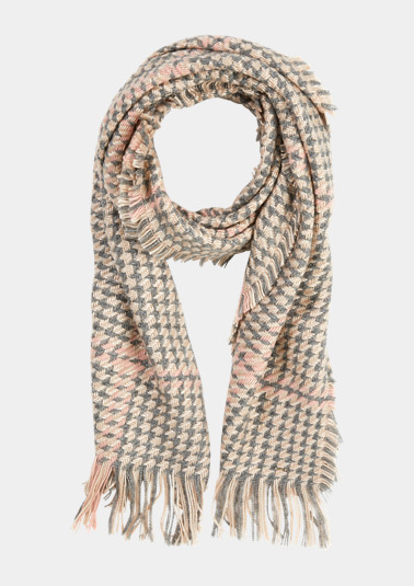 Patterned woven scarf from comma