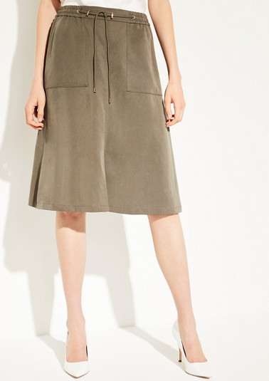 Lightweight lyocell skirt from comma