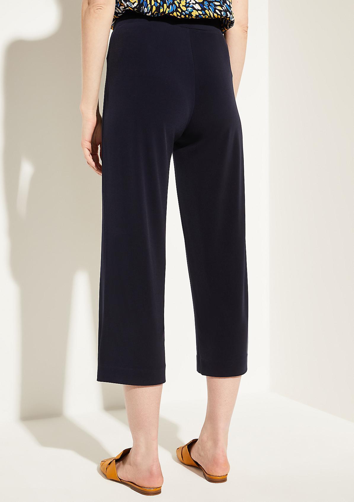 Regular Fit: Culotte mit Elastikbund