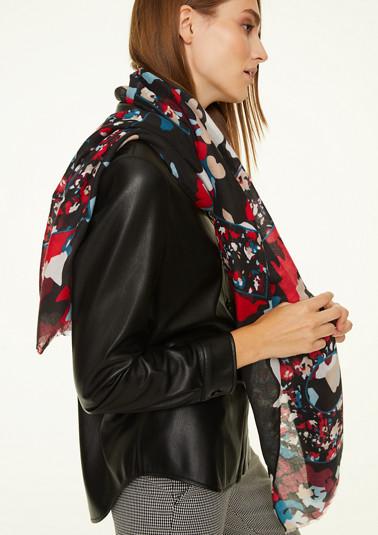 Schal mit modischem mit Allover-Print