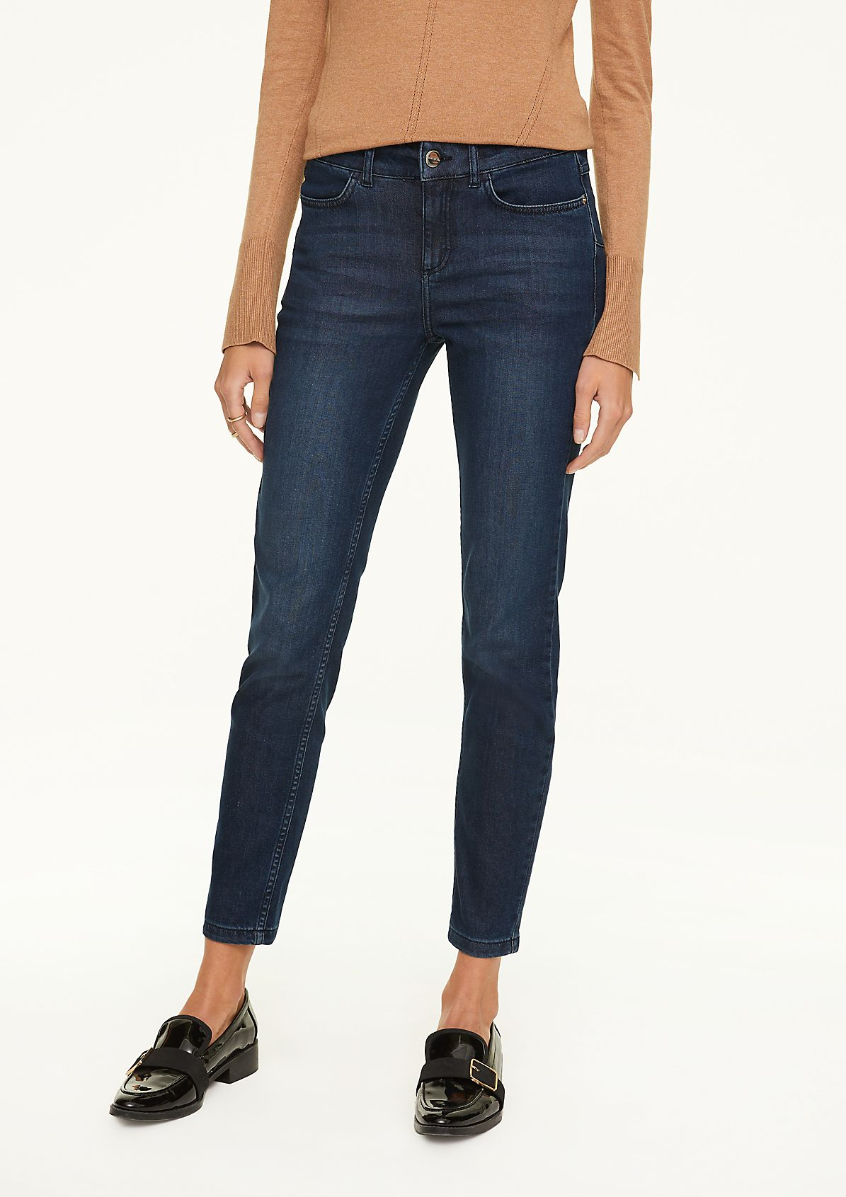 Skinny Fit: Push-up Jeans